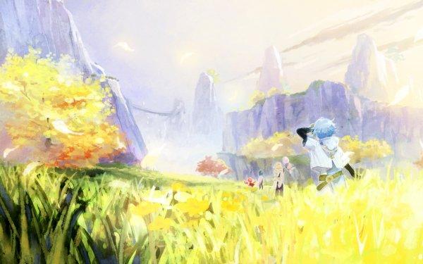 Videospel Genshin Impact Aether Klee Paimon Chongyun Kaeya HD Wallpaper | Achtergrond