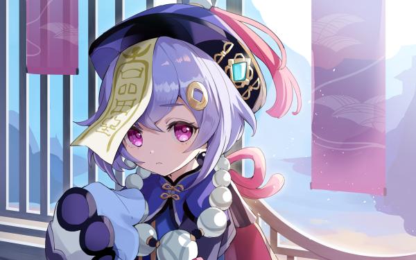 Video Game Genshin Impact Qiqi HD Wallpaper   Background Image