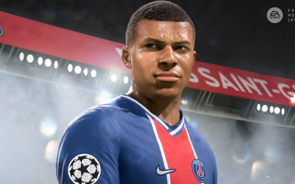 Video Game FIFA 21 Kylian Mbappé HD Wallpaper | Background Image