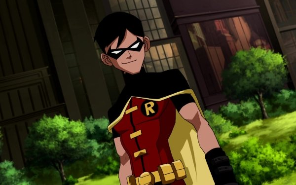 TV Show Young Justice Robin Dick Grayson Black Hair HD Wallpaper   Background Image