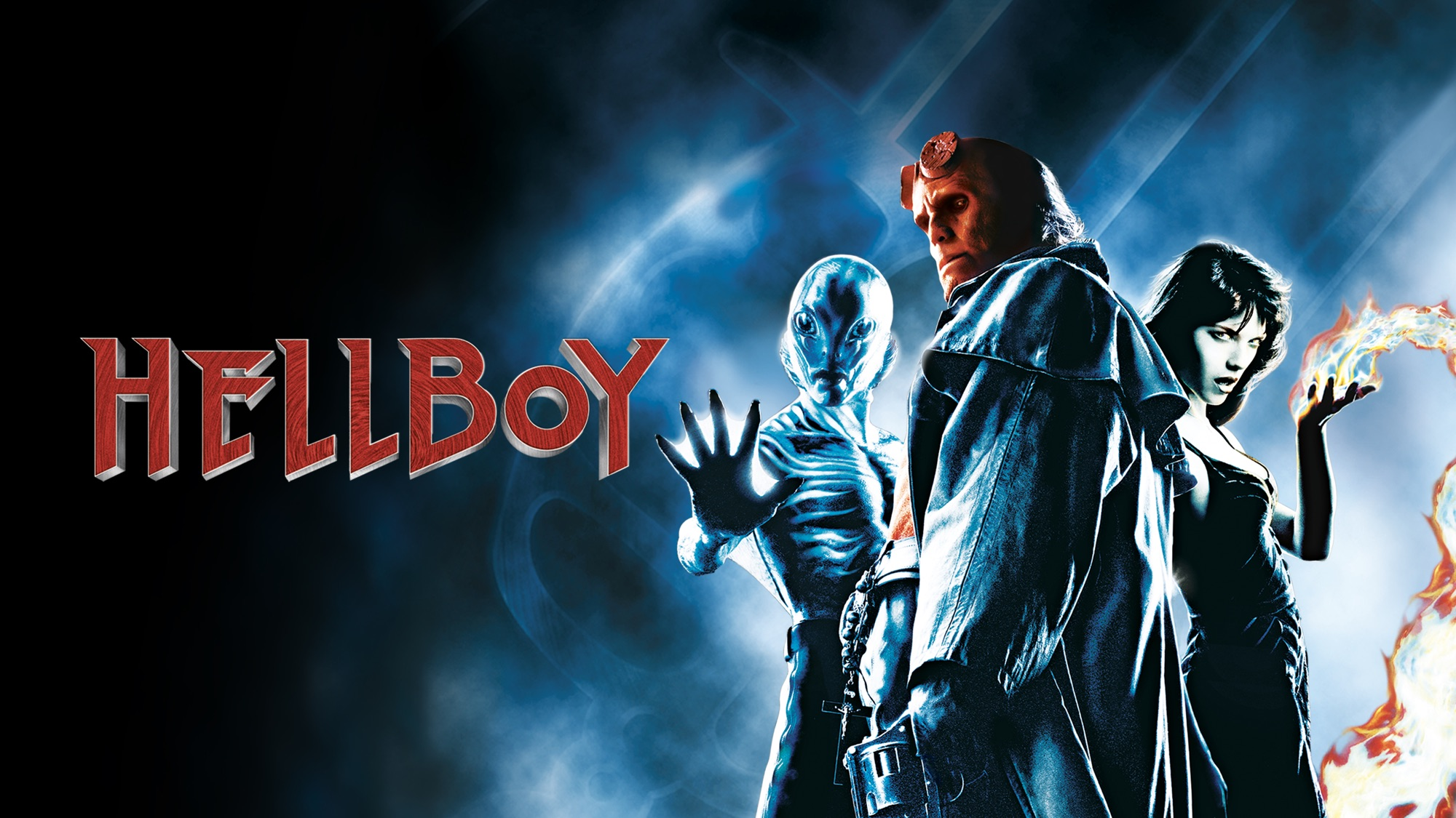 Hellboy (2004) HD Wallpaper   Background Image   2000x1125