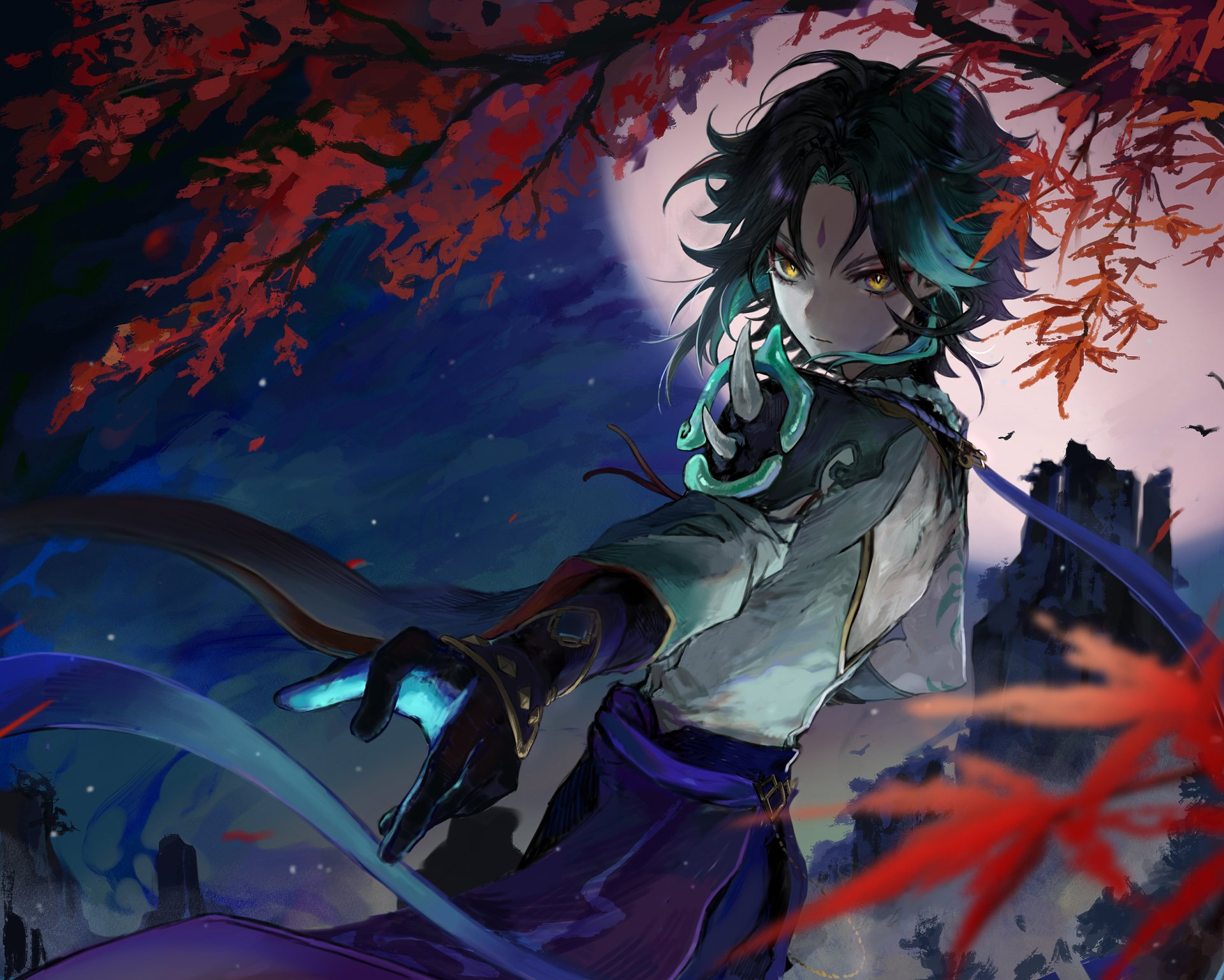 Xiao Genshin Impact Wallpaper HD 4k