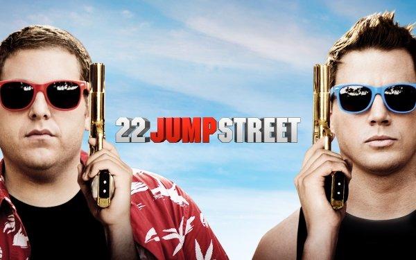 Movie 22 Jump Street Channing Tatum Jonah Hill HD Wallpaper | Background Image