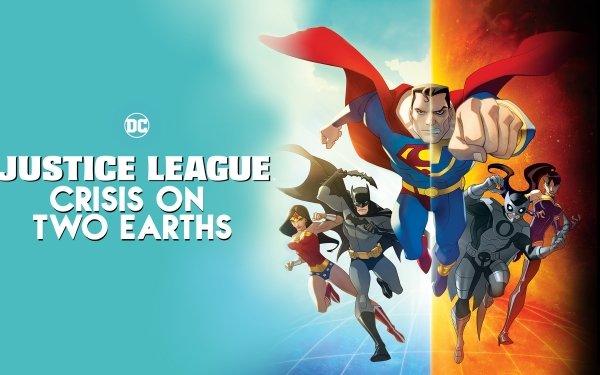 Movie Justice League: Crisis On Two Earths Justice League Superman Ultraman Wonder Woman Batman Superwoman Owlman HD Wallpaper   Background Image
