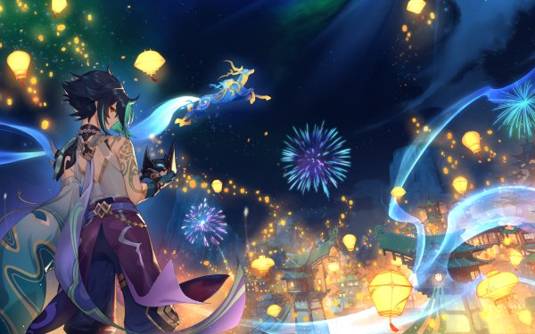 Video Game Genshin Impact Xiao Liyue HD Wallpaper | Background Image