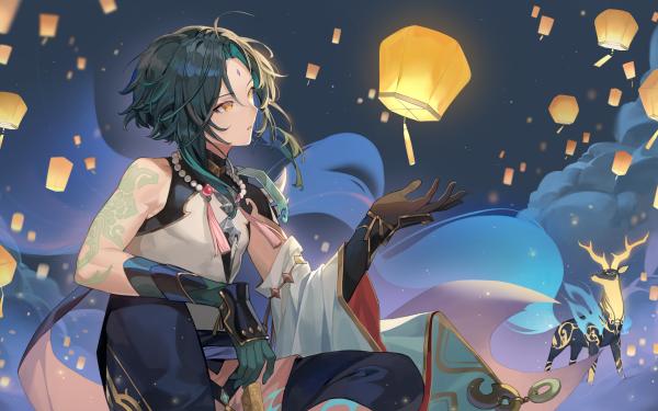 Video Game Genshin Impact Xiao HD Wallpaper   Background Image