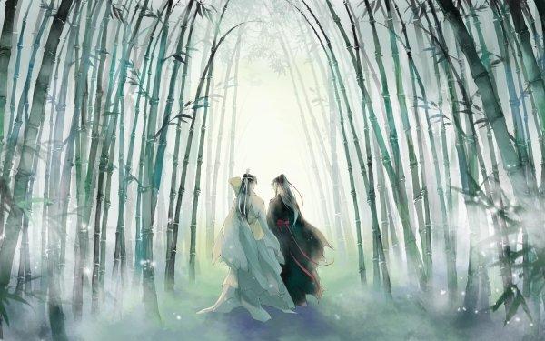 Anime Mo Dao Zu Shi Wei Wuxian Wei Ying Lan Zhan Lan Wangji HD Wallpaper   Background Image