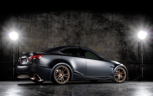 Véhicules Lexus IS Lexus Lexus IS F Voiture Black Car Fond d'écran HD | Image