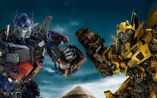 Movie Transformers: Revenge of the Fallen Transformers Optimus Prime Bumblebee HD Wallpaper | Background Image