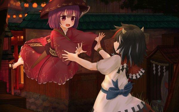Anime Touhou Shinmyoumaru Sukuna Seija Kijin HD Wallpaper | Background Image