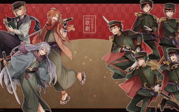 Anime Ensemble Stars Keito Hasumi Leo Tsukinaga Eichi Tenshouin Tetora Nagumo Chiaki Morisawa Souma Kanzaki Wataru Hibiki HD Wallpaper | Background Image