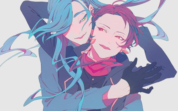 Anime Touken Ranbu Kashuu Kiyomitsu Nikkari Aoe HD Wallpaper   Background Image