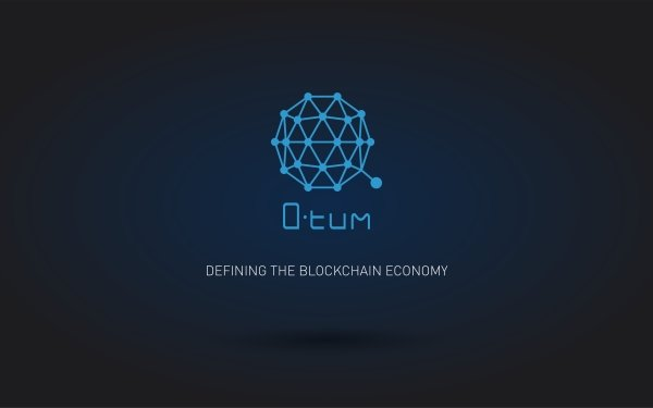 Technology Cryptocurrency Blue Logo Currency Qtum HD Wallpaper | Background Image