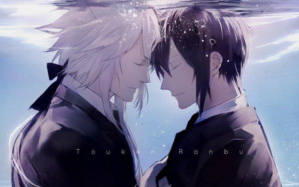 Anime Touken Ranbu Kogitsunemaru Mikazuki Munechika HD Wallpaper | Background Image