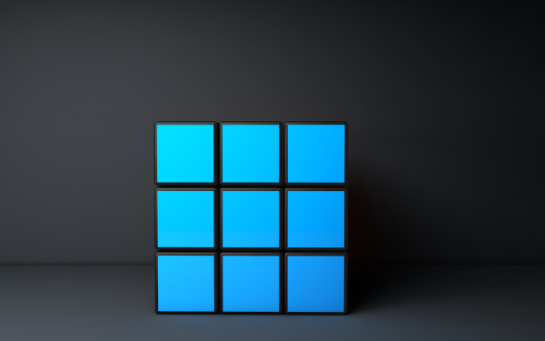 Abstract Cube Rubik's Cube 3D CGI HD Wallpaper | Background Image