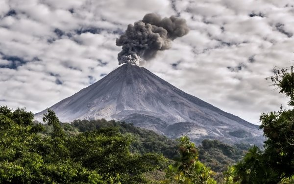 Earth Volcano Volcanoes Nature HD Wallpaper   Background Image