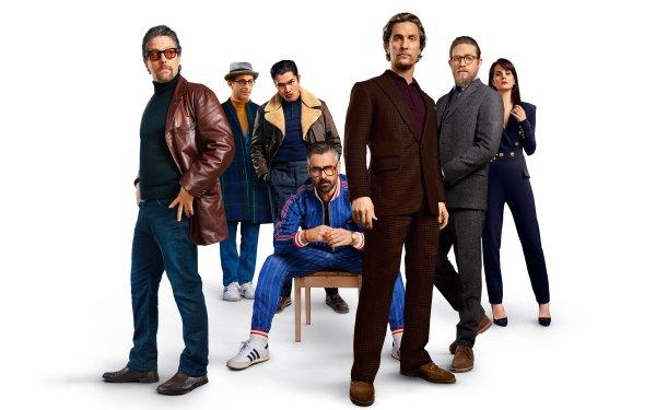 Movie The Gentlemen Matthew McConaughey Colin Farrell Hugh Grant Charlie Hunnam Henry Golding Jeremy Strong HD Wallpaper | Background Image