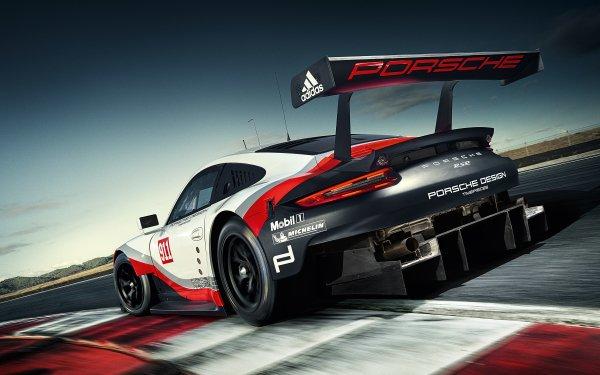 Vehicles Porsche 911 RSR Porsche Porsche 911 Car Race Car Supercar HD Wallpaper   Background Image