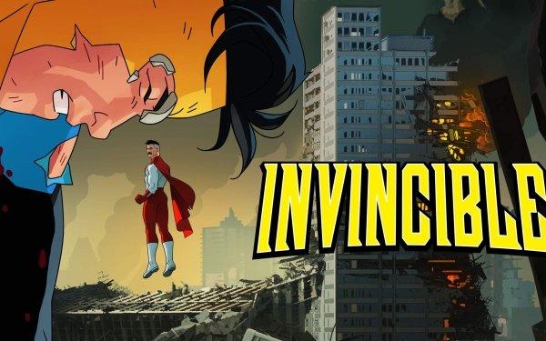 TV Show Invincible Omni-Man Mark Grayson Logo HD Wallpaper | Background Image