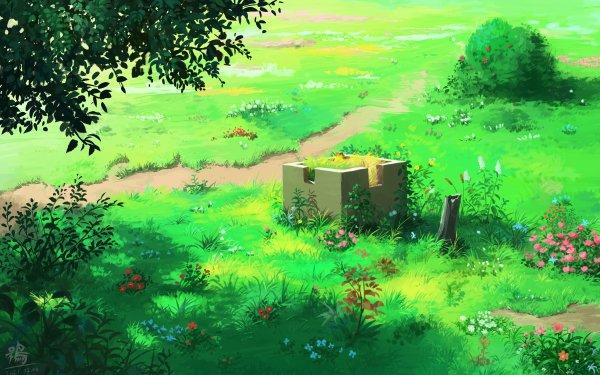 Anime Landscape HD Wallpaper | Background Image