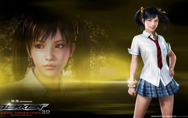 Anime Tekken: Blood Vengeance Tekken Ling Xiaoyu HD Wallpaper | Background Image