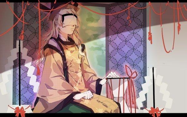 Anime Touhou Okina Matara HD Wallpaper   Background Image