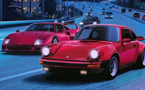 Vehicles Sports Car Car Highway Sport Car HD Wallpaper   Background Image