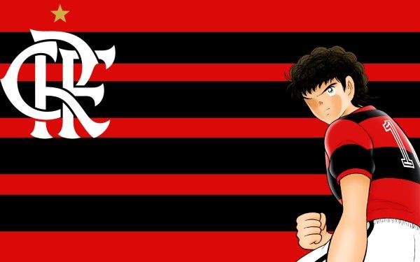 Anime Captain Tsubasa Carlos Santana Clube de Regatas do Flamengo HD Wallpaper | Background Image