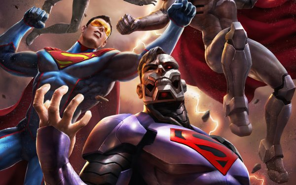 Movie Reign of the Supermen Superman Cyborg Superman Eradicator HD Wallpaper | Background Image