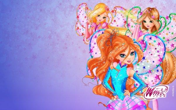 TV Show Winx Club Fairy Bloom Stella Flora Logo HD Wallpaper   Background Image
