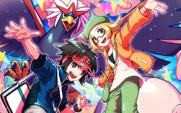 Video Game Pokémon Masters EX Pokémon Boy Girl Nate HD Wallpaper | Background Image