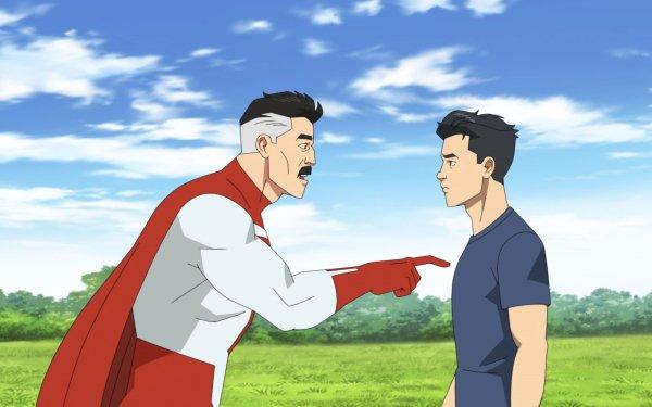 TV Show Invincible Mark Grayson Omni-Man Nolan Grayson HD Wallpaper | Background Image