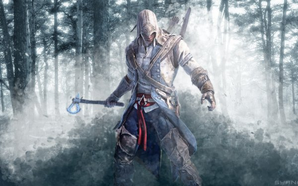 Video Game Assassin's Creed III Assassin's Creed Connor HD Wallpaper | Background Image