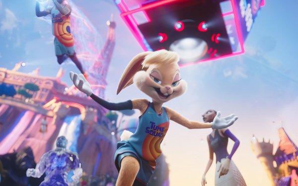 Movie Space Jam 2 Looney Tunes Lola Bunny HD Wallpaper | Background Image