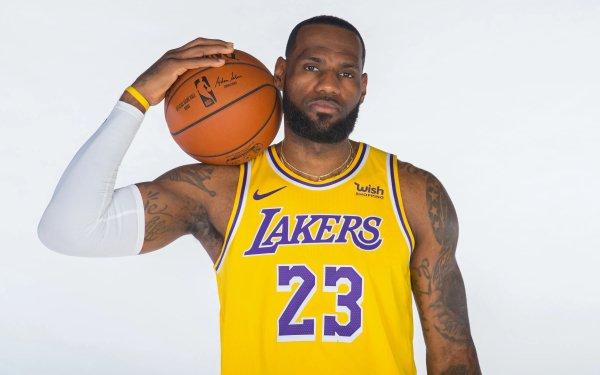 Sports LeBron James Basketball Los Angeles Lakers NBA Fond d'écran HD | Image