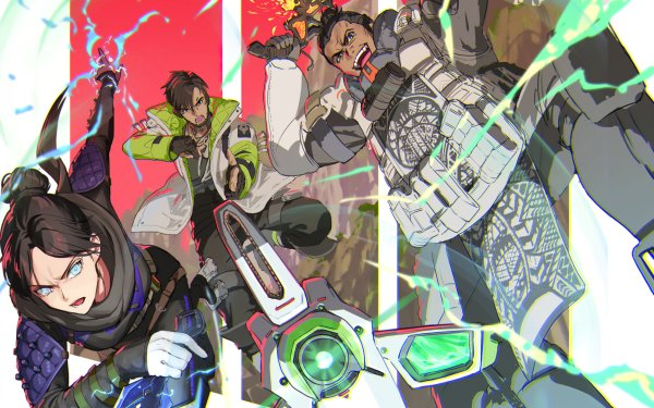 Video Game Apex Legends Crypto Wraith Gibraltar HD Wallpaper | Background Image