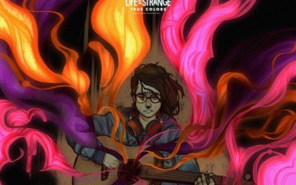 Video Game Life is Strange: True Colors Alex Chen Guitar HD Wallpaper | Background Image