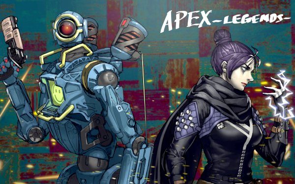 Video Game Apex Legends Pathfinder Wraith HD Wallpaper | Background Image