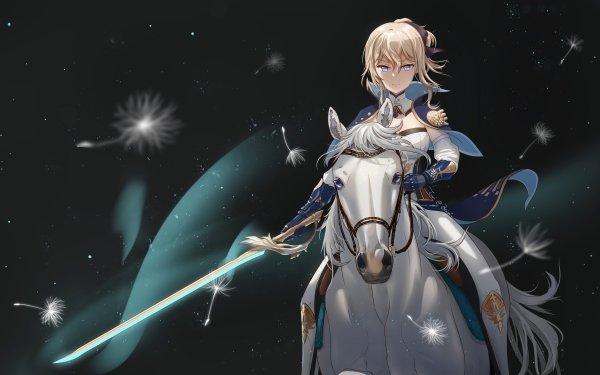 Video Game Genshin Impact Jean HD Wallpaper | Background Image