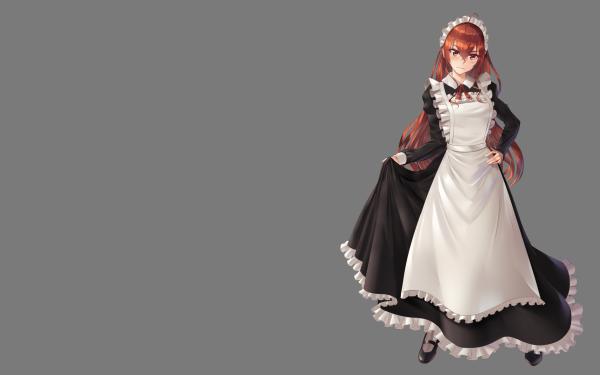 Anime Mushoku Tensei: Jobless Reincarnation Eris Boreas Greyrat Maid HD Wallpaper   Background Image