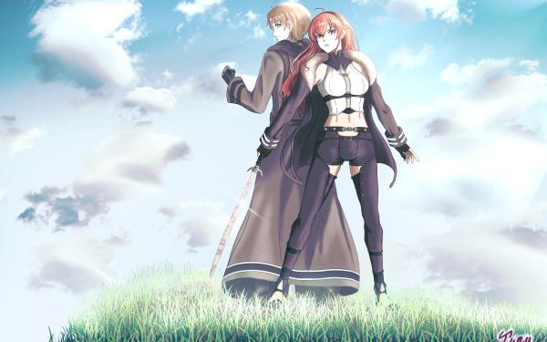 Anime Mushoku Tensei: Jobless Reincarnation Eris Boreas Greyrat Rudeus Greyrat HD Wallpaper   Background Image