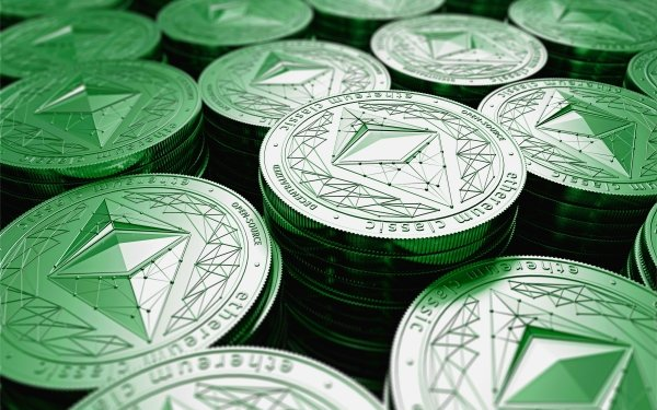 Technology Ethereum Coin Cryptocurrency HD Wallpaper | Background Image