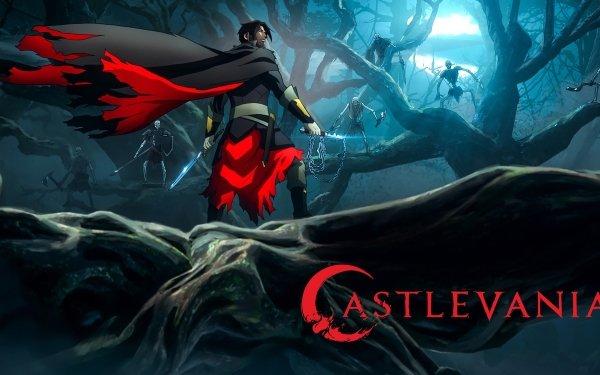 Anime Castlevania Trevor Belmont HD Wallpaper | Background Image
