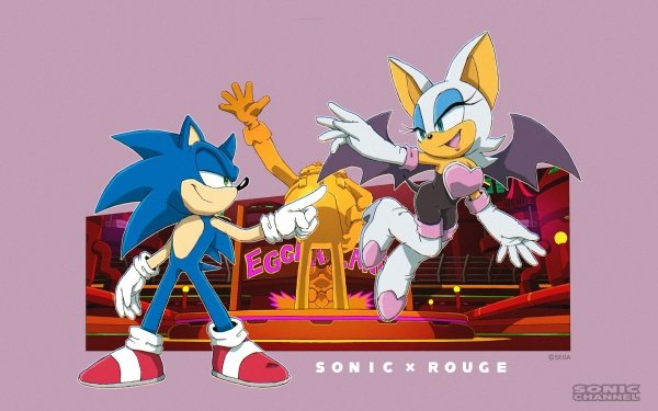 Video Game Sonic the Hedgehog Sonic Rouge the Bat Sonic Channel HD Wallpaper | Background Image