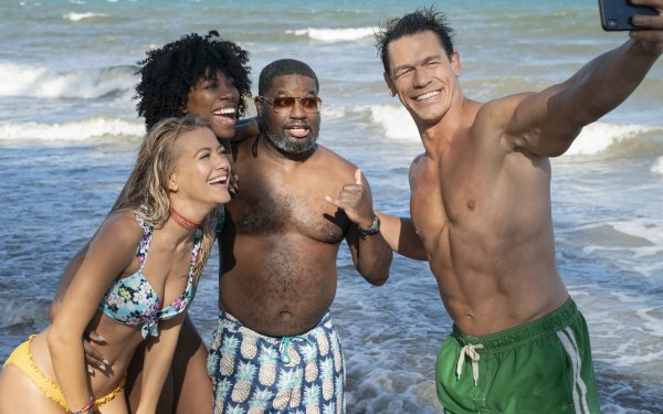 Movie Vacation Friends John Cena Meredith Hagner Lil Rel Howery Yvonne Orji HD Wallpaper | Background Image