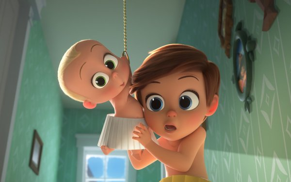 Movie The Boss Baby: Family Business Tim Templeton Theodore Templeton HD Wallpaper | Background Image