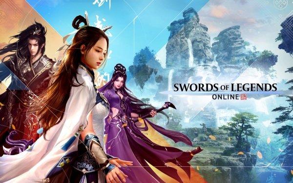 Video Game Swords of Legends Online HD Wallpaper | Background Image