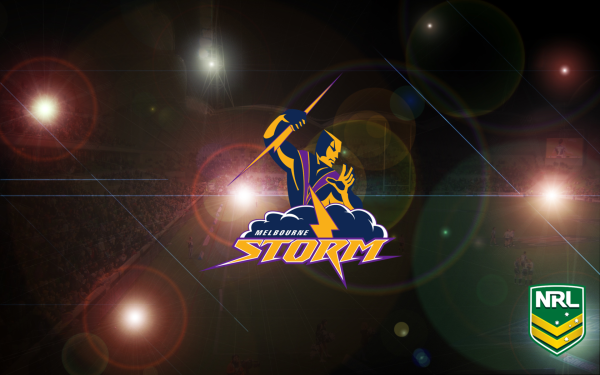 Sports Melbourne Storm Rugby National Rugby League NRL Logo HD Wallpaper | Background Image