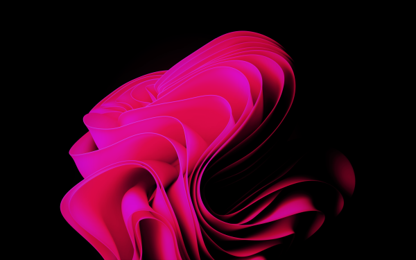 Technology Windows 11 Pink HD Wallpaper | Background Image