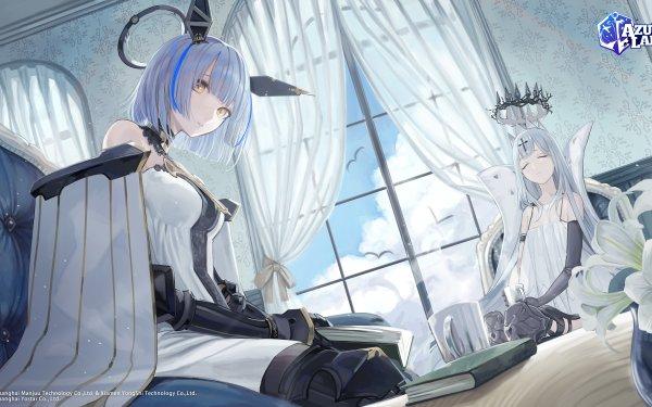 Anime Azur Lane Champagne Gascogne HD Wallpaper | Background Image